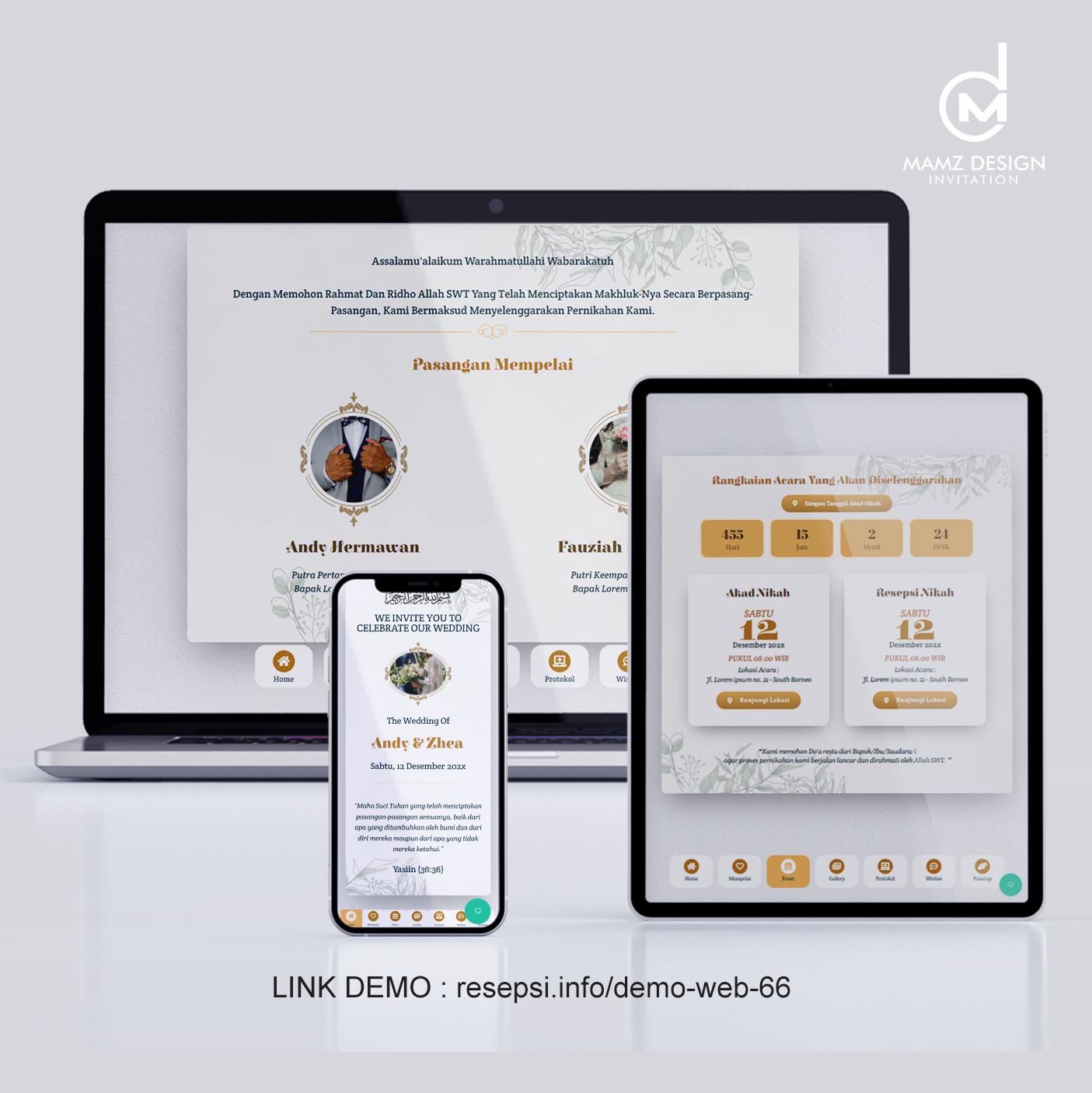 Demo Web 66
